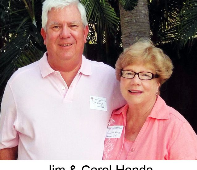 Carolyn Handa (with Jim)