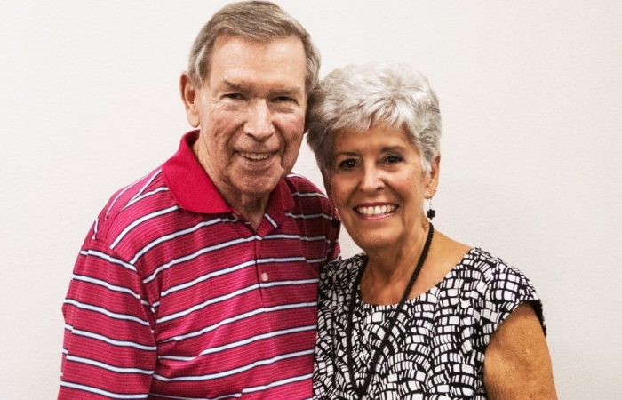 Bob Perkins (with Donna)