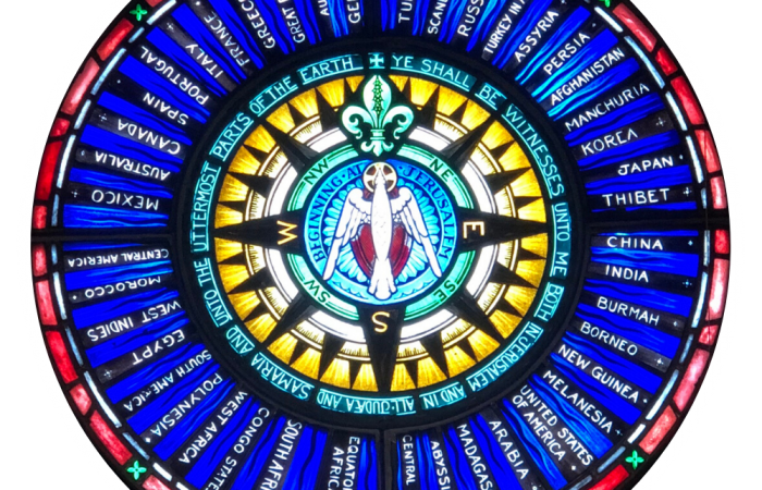 The Stained Glass of St. Mark's